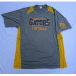 Perry Hall Football Short Sleeve Carbon Grey Performance Tee ( Gold)