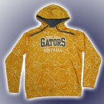 Perry Hall Complex Performance Hoody Gold