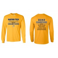 Harford Tech Track & Field  QUAD long sleeve t-shirt