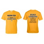 Harford Tech Track & Field  QUAD  t-shirt