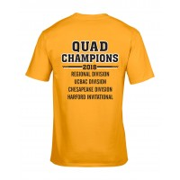 Harford Tech Track & Field QUAD performance tee
