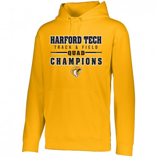 Harford Tech Track & Field QUAD Champions Hooded Sweatshirt