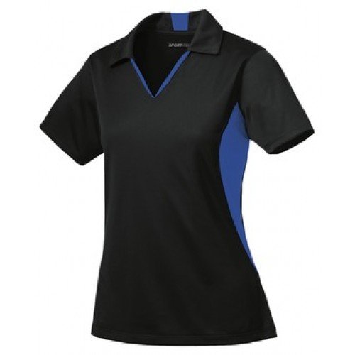 Renegades CHEER COACH  Ladies Performance V-neck polo ( WITH CHEER EMBROIDERY)