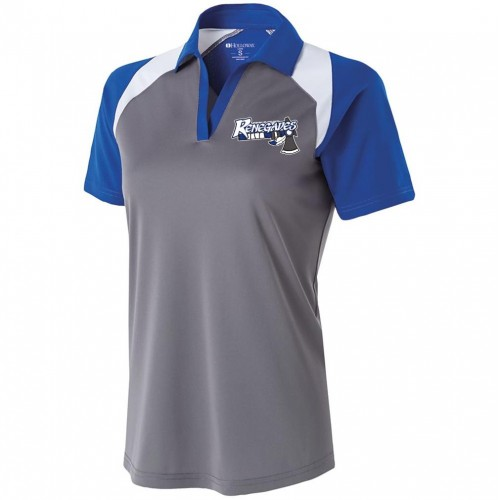 Renegades Football Ladies Holloway Coaches shirt with embroidery