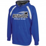 Renegades ARGON Hooded sweatshirt Royal ( Youth and Adult Sizes)