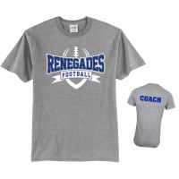 Renegades Football tee 2