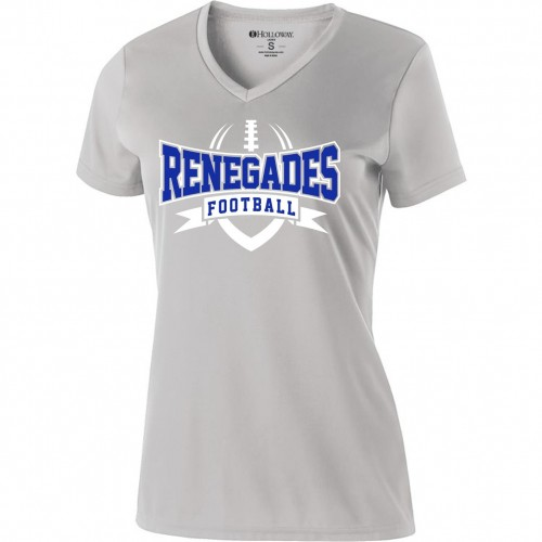 Renegades Ladies Coaches V-NECK Performance tee