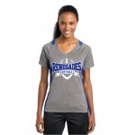 Renegades Ladies Coaches V-NECK Two Tone Performance tee