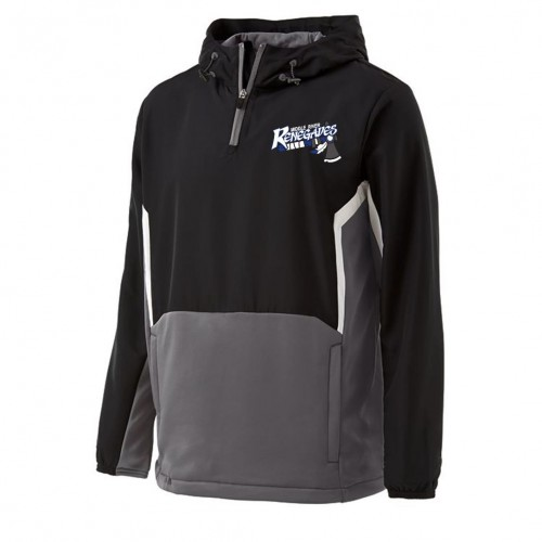 Middle Riverl 1/4 Zip Potential Pullover Black/Gray