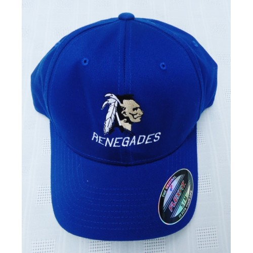 Renegades Indian Embroidered FLEX FIT ball cap.