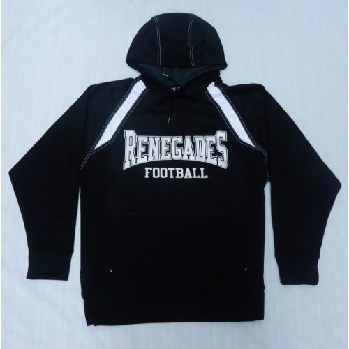 Renegades Football Performance Fleece Hoody Black