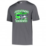 Joppatowne Seahawks Carbon Gray performance tee