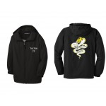 Harford Tech Graphics and Printing Jacket with embroidered name and graduation year