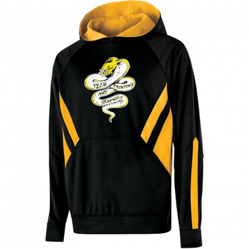 Tech Graphics Argon Performance Hoody with full front logo