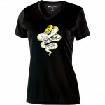 Tech Graphics Ladies V-neck t-shirt
