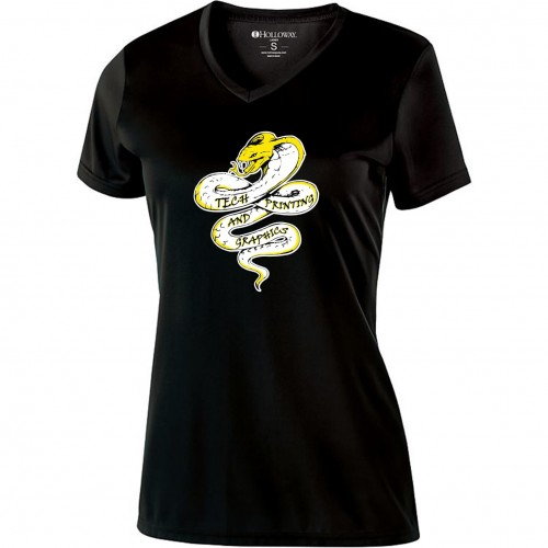 Tech Graphics Graphics Ladies V-Neck