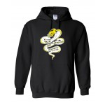 Tech Graphics and Printing Black Hooded sweatshirt