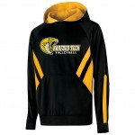 Harford Tech Volleyball two tone performance fleece