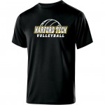 Harford Tech Volleyball Black performance tee 2