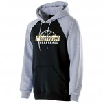 Harford Tech Volleyball black and gray Premium Fleece