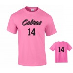 Harford Tech Volleyball Uniform tee - Pink