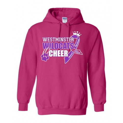 Westminster Wildcats Cheer CHLOE Hooded sweatshirt