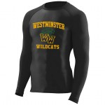 Westminster Wildcats Hyperform COMPRESSION Long sleeve Tee (Ultra tight fit)