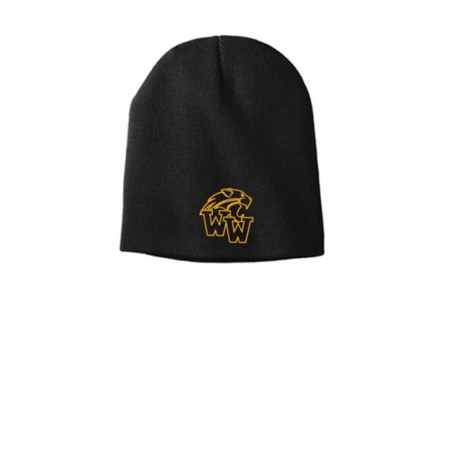 Westminister Wildcats Black Skull Cap