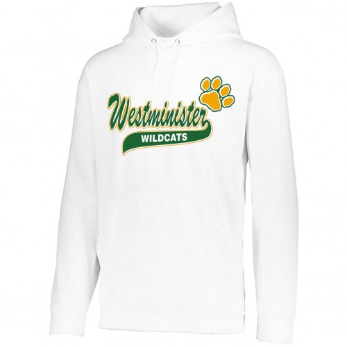 Westminister Wildcats Cheer Hooded sweatshirt 2 (white)