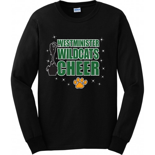 Westminister Wildcats Cheer Long Sleeve Tee