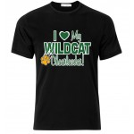 "Westminster Wildcats Tee "" I Love My Wildcat Cheerleader!"""