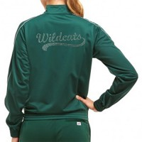 *Westminster Wildcats Jacket with Rhinestone design