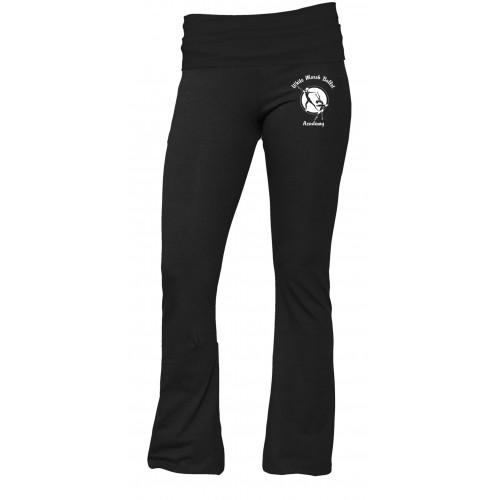 White Marsh Ballet Practice Pant Black