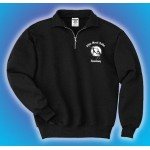 White Marsh Ballet Unisex 1/4 zip embroidered pullover