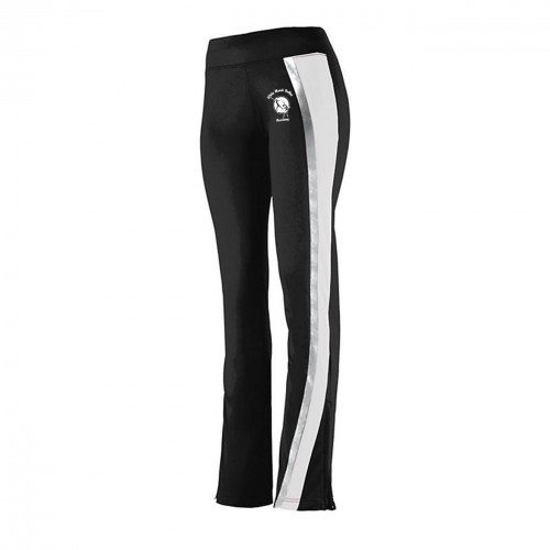 White Marsh Ballet Academy White black warm up pant