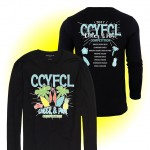 CCFL 2017 Black Cheer & Pom Competition Long Sleeve t-shirt with team names
