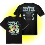 CCYFCL 2017 Cheer & Pom black t-Shirt  with team names on back