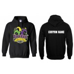 CCYFCL 2018 Black Cheer & Pom Competition Hooded Sweatshirt w/ CUSTOM LETTERING on Back