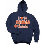 I love My Cougars Cheerleader! Hoody