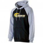 Harford Tech Track & Field black and gray premium fleece