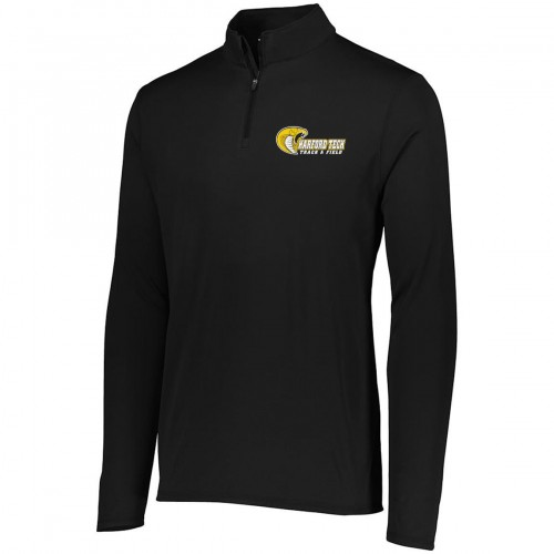 Harford Tech Track and Field MENS black quarter zip pullover