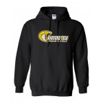 Harford Tech Track & Field Basic Gildan Black Hooded sweatshirt