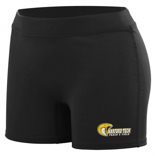 Harford Tech Track & Field Ladies compression short