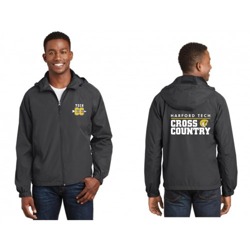 Harford Tech CHARCOAL Cross Country Sportek Jacket