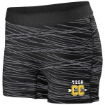 Harford Tech Cross Country short black/graphe print