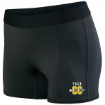 Harford Tech Cross Country short black