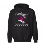 Dancemoves Black Hooded logo Sweatshirt