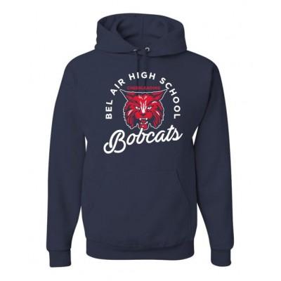 Bel Air cheerleading Bobcat Hooded sweatshirt