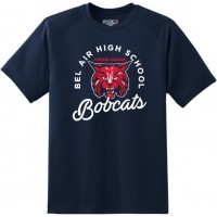Bel Air cheerleading Bobcat tee