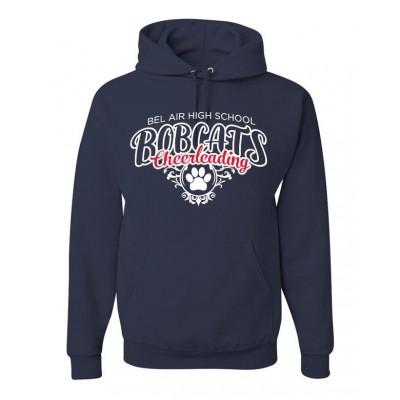 Bel Air cheerleading Paw Hooded sweatshirt